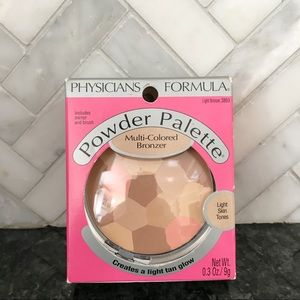New!Physicians Formula Multi-Colored Bronzer Light